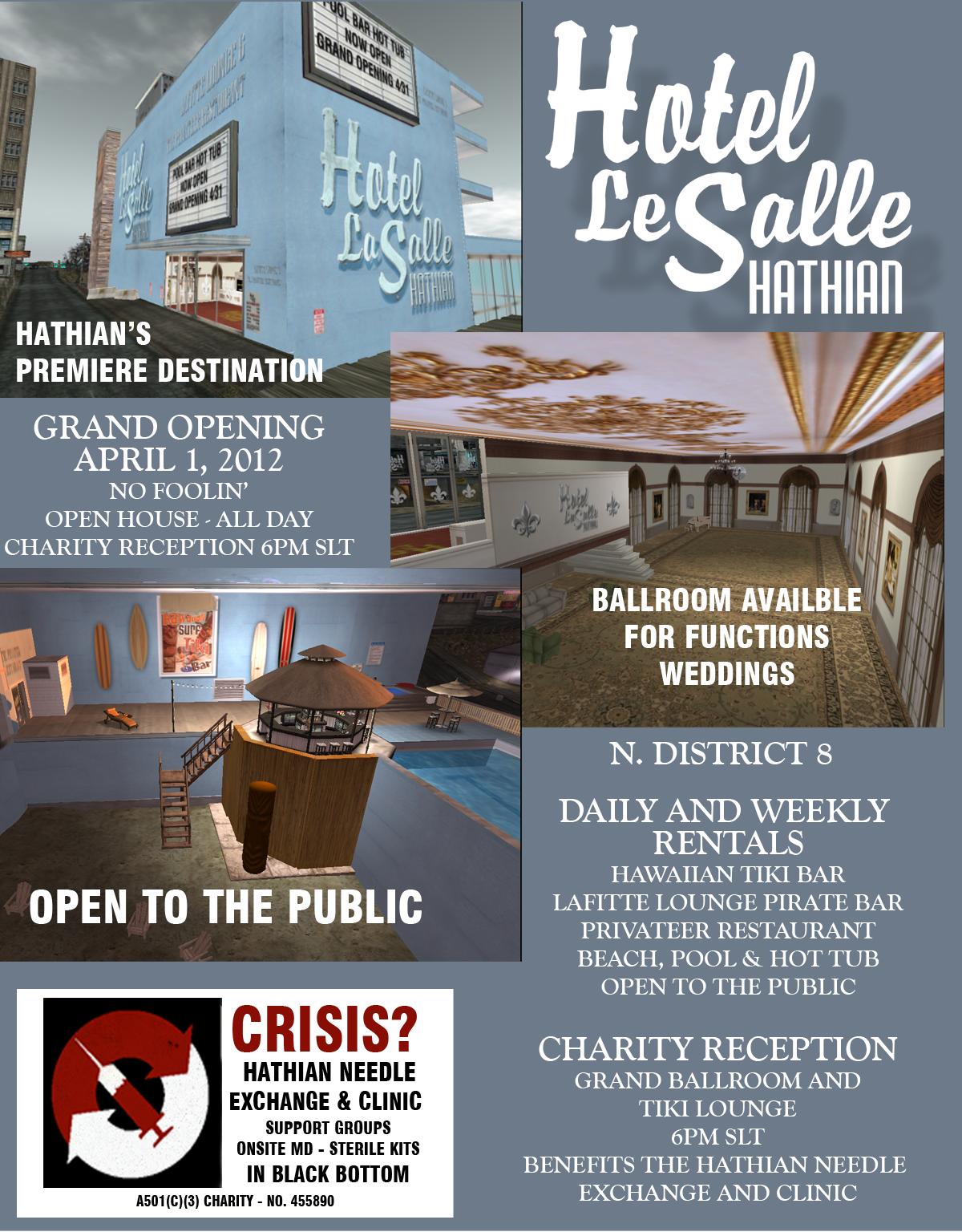 Grand Opening Hotel La Salle