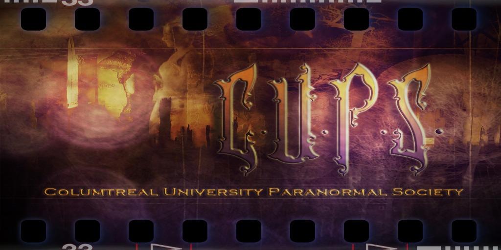 Columtreal University Paranormal Society - Logo created by Iokko Molko