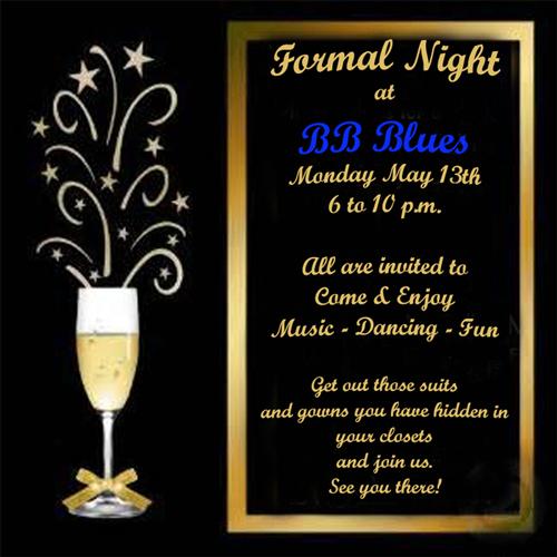 Formal Night Invitation 500x500