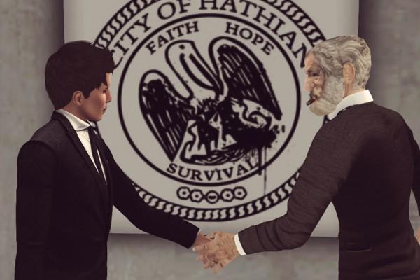 Known criminal brutally stabs Mayor of Hathian.