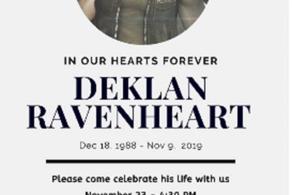 DEKLAN RAVENHEART - ALWAYS A PART OF HATHIAN