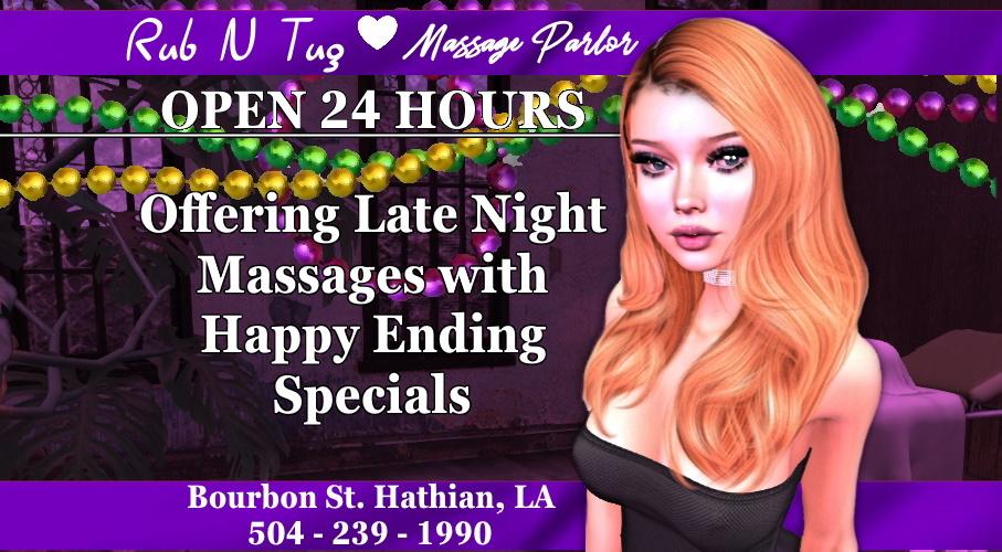 Rub N Tug Offers Happy Ending Specials - Hathian Observer